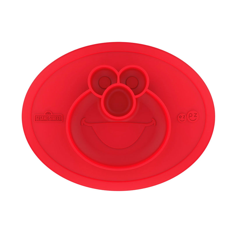 [T] Sesame Street - Elmo Plate & Placemat