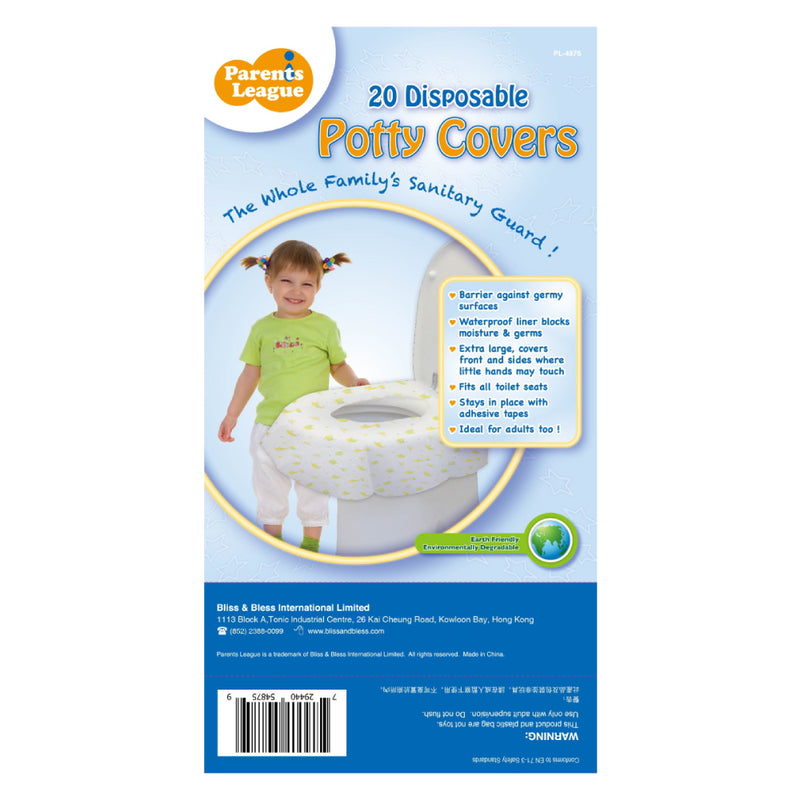 Disposable Toilet Covers 20's