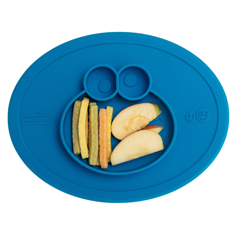 [T] Sesame Street - Cookie Monster Plate & Placemat