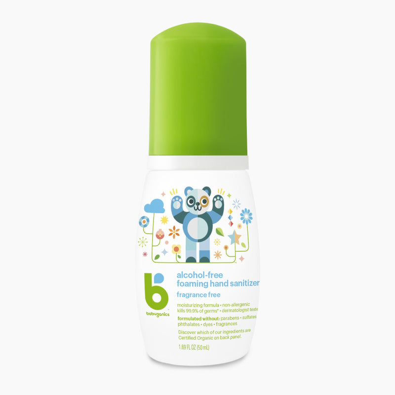 [T] Hand Sanitizer Fragrance Free - 50ml On-The-Go
