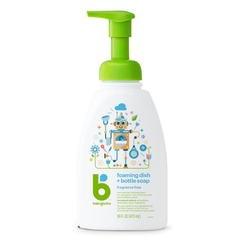 [T] Dish & Bottle Soap - Fragrance Free 473ml