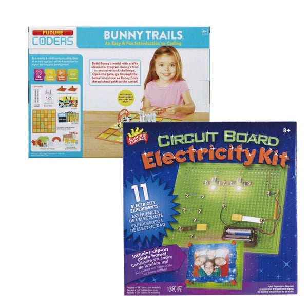 Coding & Electric Science Set
