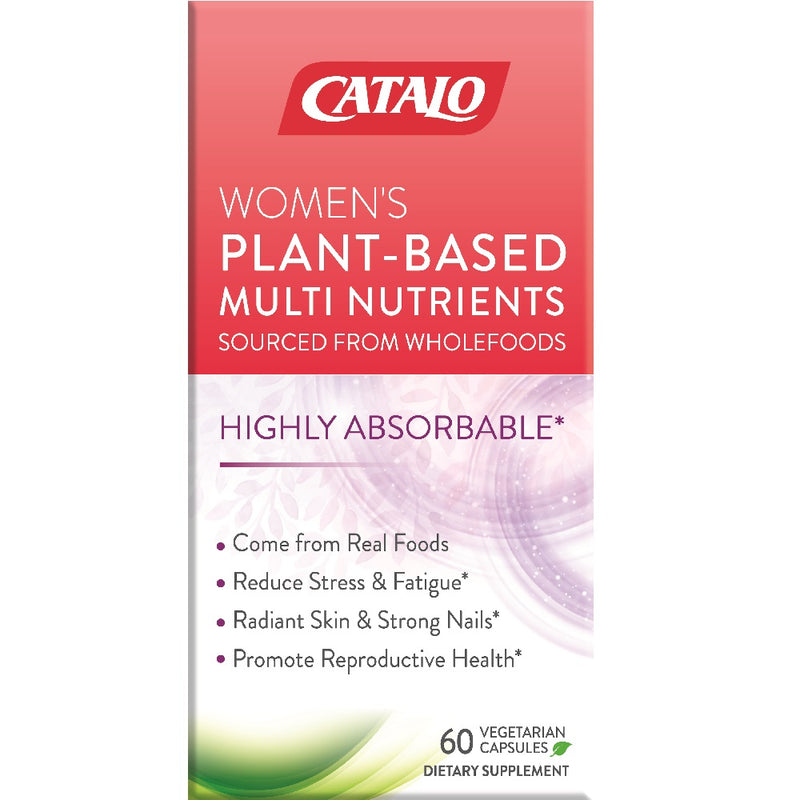 CATALO Women's Whole Foods Nutrients Formula 60 Capsules