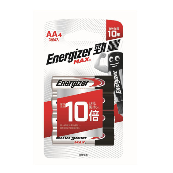 ENERGIZER ALK.BATTERY AAX4'S