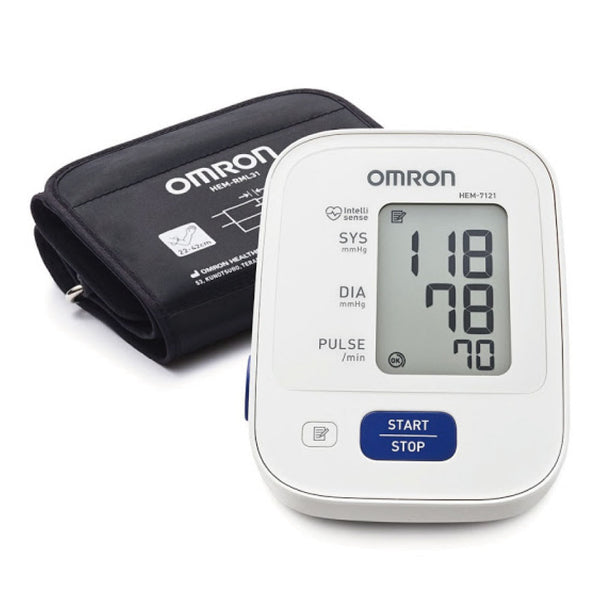 [T] OMRON - HEM-7121 Arm Blood Pressure Monitor