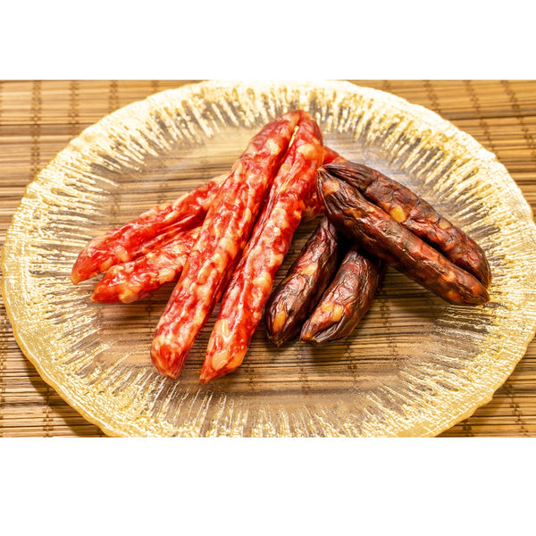 Kim Cook Yuen - Supreme Goose Liver Sausage and Lean Pork Sausage Set (302.5g each)