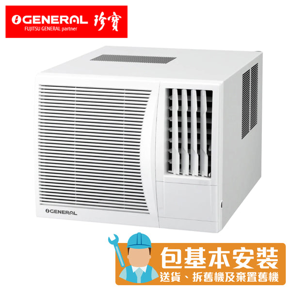General - AK717FNR 3/4HP Window Type Air Conditioner