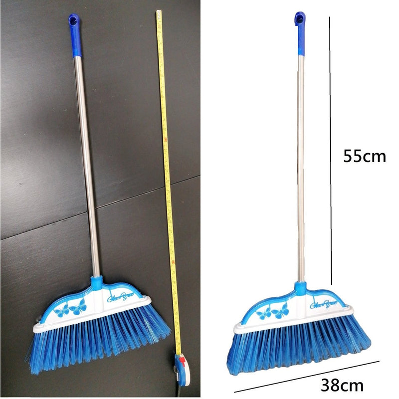 28 LoveHome - Broom with steel holder