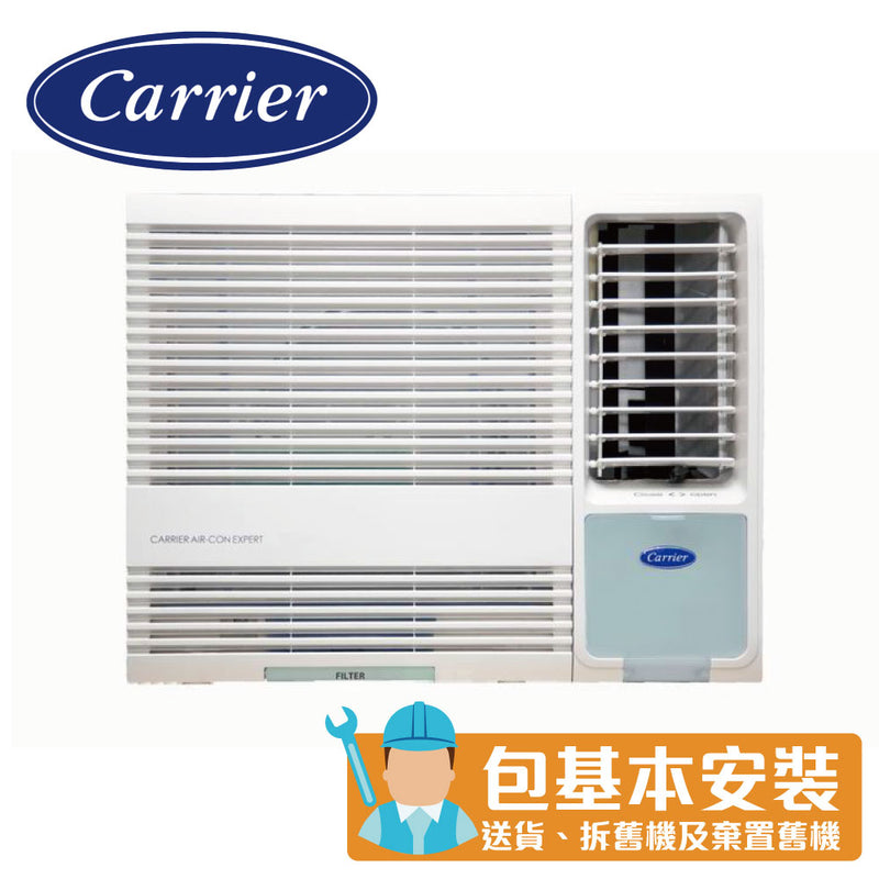 Carrier - CHK09EPE 1 HP Window Type Air Conditioner (Remote Type)