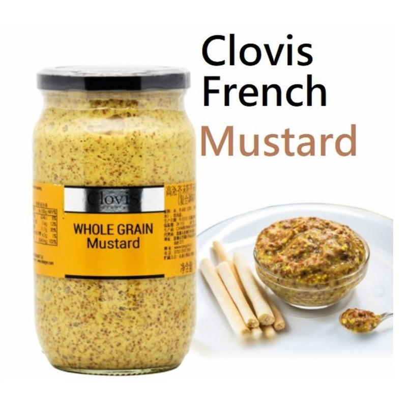 Clovis Whole Grain Mustard (800g)