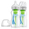 Options+ Anti-Colic Bottle w/ Breast-Like Nipple - Glass 9oz 2's