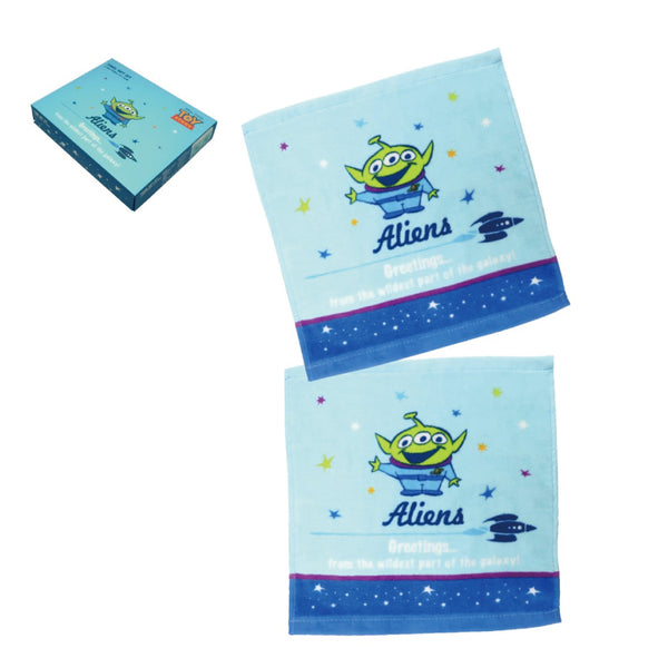 [T] Toy Story 2P Face Towel Set 30x30cm