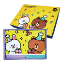 [T] Line Friends 2P Face Towel Set 60x30cm