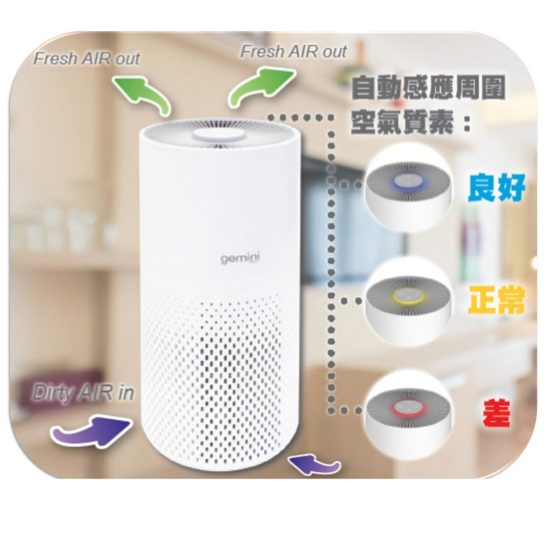 Gemini WIFI Smart HEPA Filter Air Purifier GWAP23