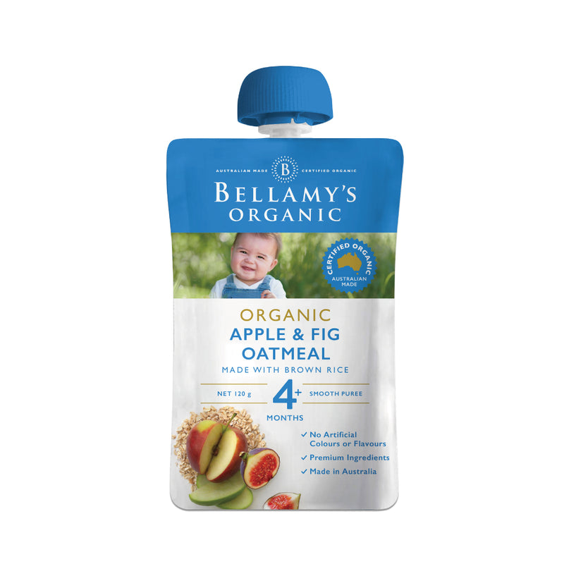BO APPLE & FIG OATMEAL120G