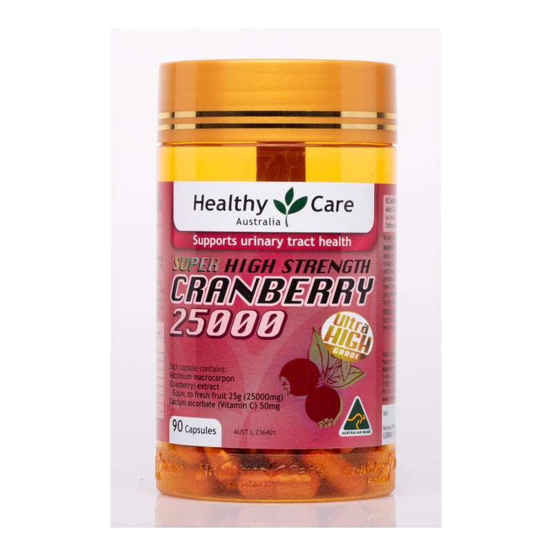 [T] Healthy Care Super Cranberry 25000 90 Capsules