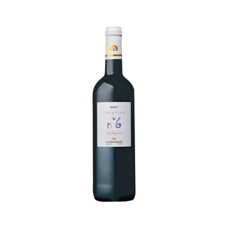 MAISON MEI Red Wine - CREATION MERLOT IGP MEDITERRANEE 2017
