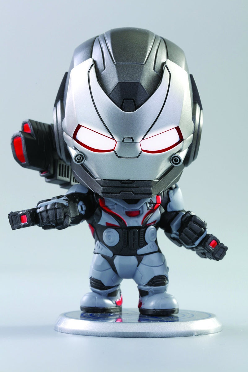[T] Hot Toys Iron Man, Captain America, War Machine Cosbaby Bobble-Head Collectible Set