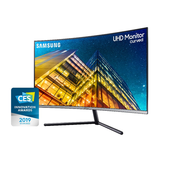 "Samsung 32"" UHD Curved Monitor with 1 Billion colors LU32R590CWCXXK"
