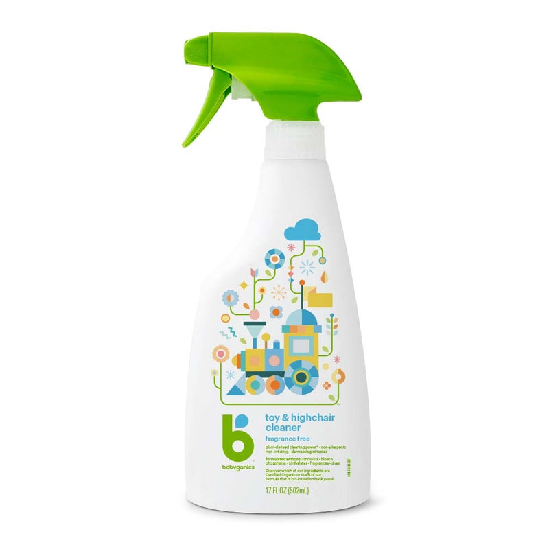 [T] Toy & Highchair Cleaner - Fragrance Free 502ml