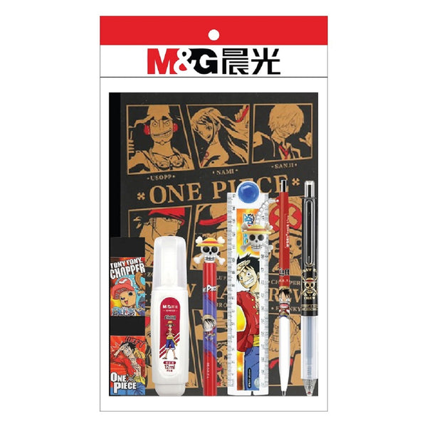 [T] One Piece Stationery Set (8-piece Stationery).