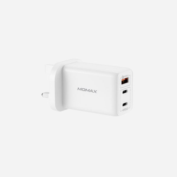 [T] ONE Plug 65W 3-Port GaN Charger (White)