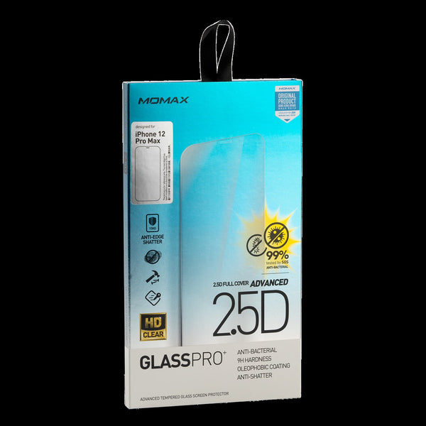 "Momax 6.7"" Glass Pro+ 2.5D  Screen Protector (for iPhone 12 Pro Max)"