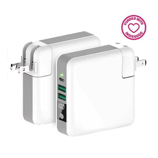 QIPLUS 3 in 1 travel adapter