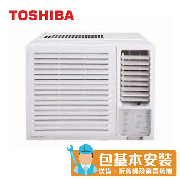 [T] Toshiba - RACH07F 3/4 HP Window Type Air Conditioner (Cooling Only Series)
