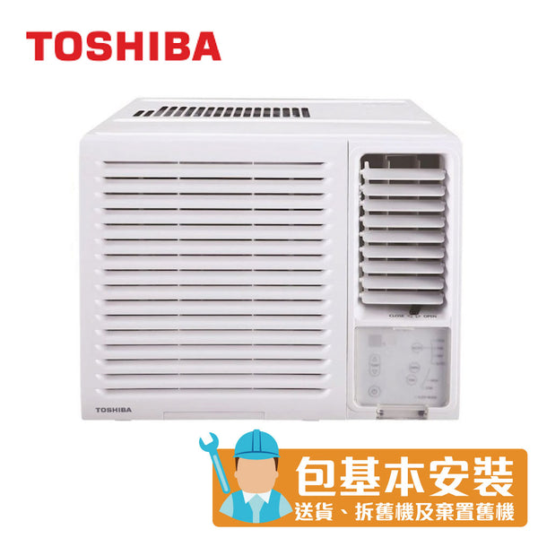 Toshiba - RACH07FR 3/4 HP Window Type Air Conditioner (Dehumidifying and LED Remote Control Series)