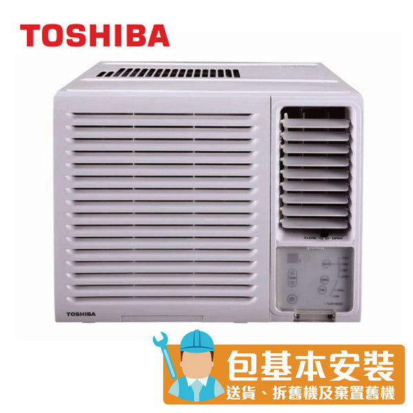 Toshiba - RACH12F 1.5 HP Window Type Air Conditioner (Cooling Only Series)