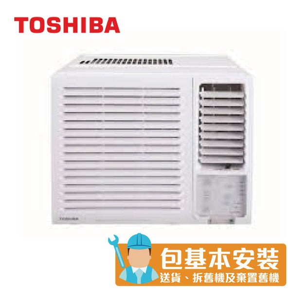 Toshiba - RACH12FR 1.5 HP Window Type Air Conditioner (Dehumidifying and LED Remote Control Series)