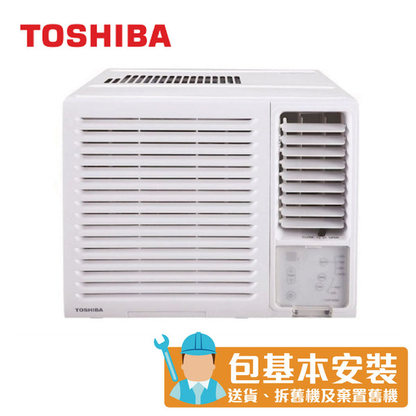 Toshiba - RACH18FR 2 HP Window Type Air Conditioner (Dehumidifying and LED Remote Control Series)