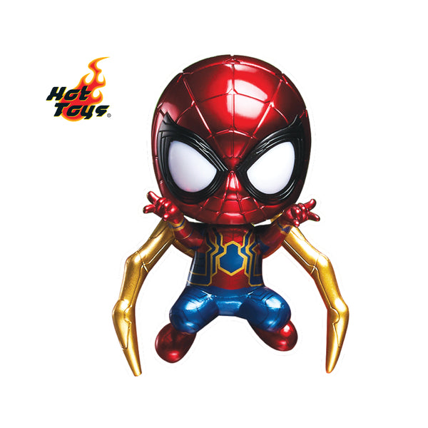 [T] HKBN Edition Iron Spider Man Cosbaby (ambient lighting)