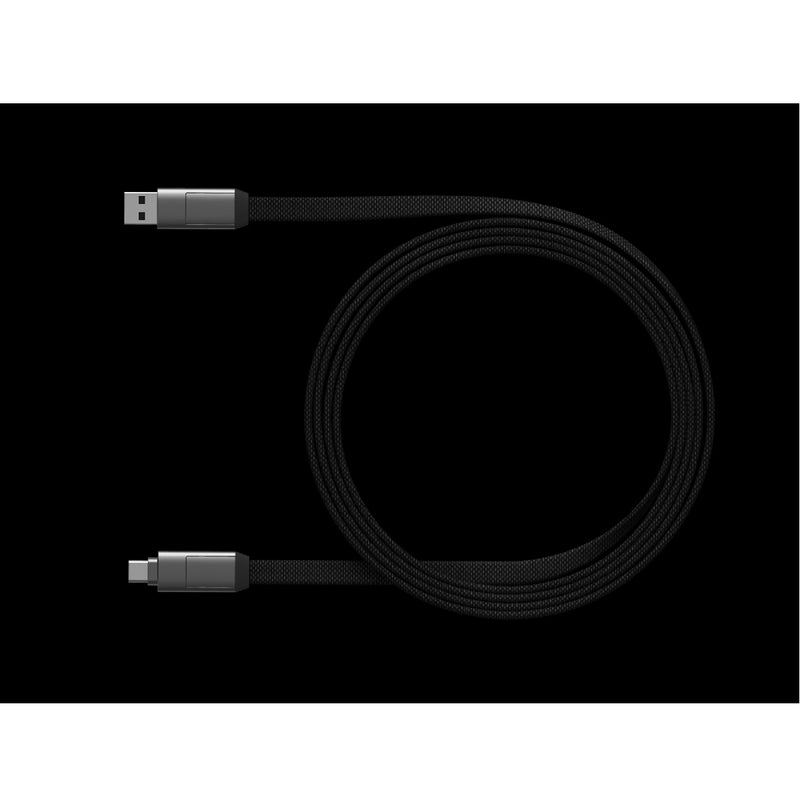 [T] InCharge 6Max 1.5M Charge & Sync Cable - Mercury Grey