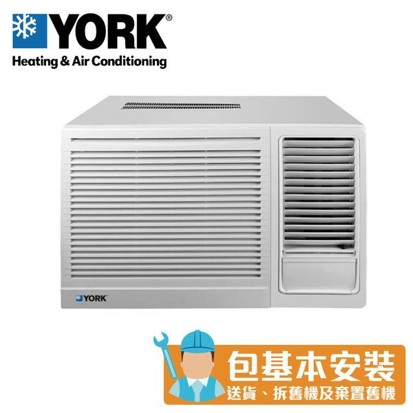 YORK - YC9GB 1.0HP Window Type Air Conditioner (Cooling Only)