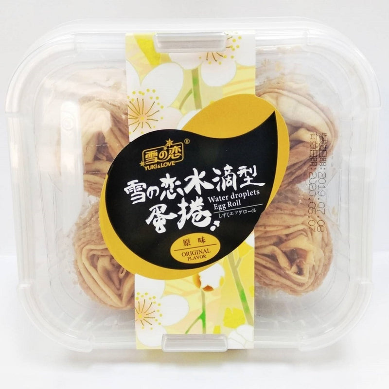 [T] Taiwan Yuki & Love Original Egg Roll x3 & Sesame Egg Roll x3 (20pcs per box)