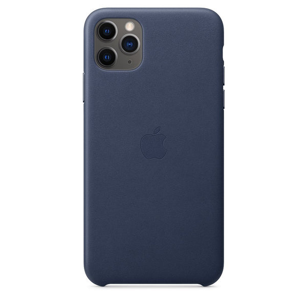 [T] iPhone 11 Pro Leather Case - Midnight Blue