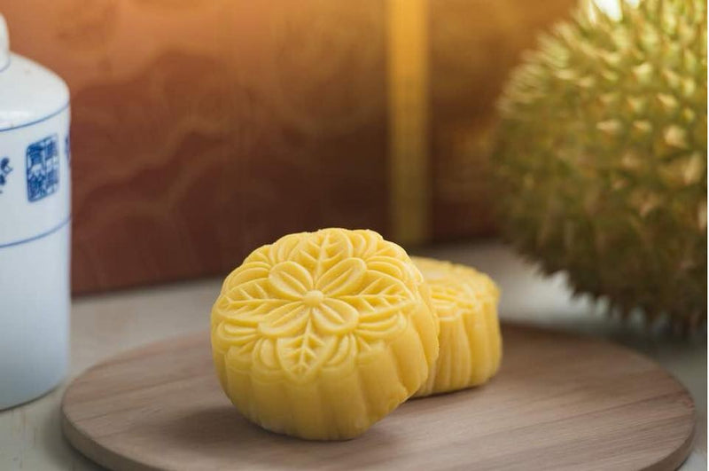 Mali Home - Musang King Durian Snowy Mooncake (1 Box)