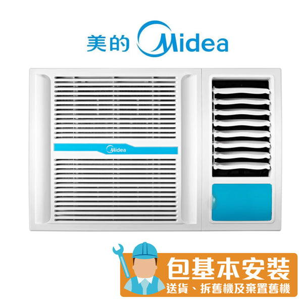 Midea - MWH09CM3 1HP Window Type Air Conditioner