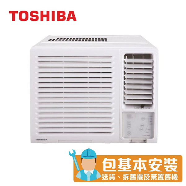[T] Toshiba - RACH07ER 3/4HP Window Type Air Conditioner (Dehumidifying & LED Remote)