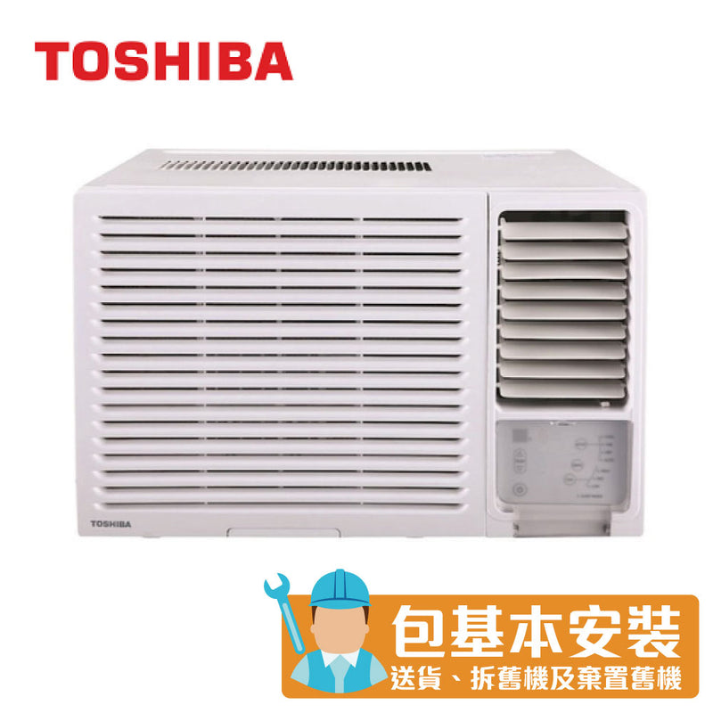 Toshiba - RACH12E 1.5 HP Window Type Air Conditioner (Cooling Only Series)