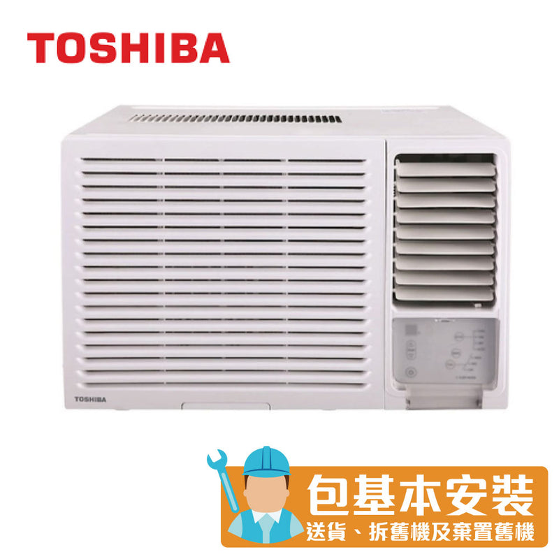Toshiba - RACH12ER 1.5HP Window Type Air Conditioner (Dehumidifying & LED Remote)