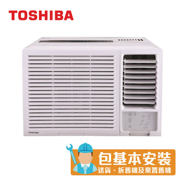 Toshiba - RACH18ER 2HP Window Type Air Conditioner (Dehumidifying & LED Remote)