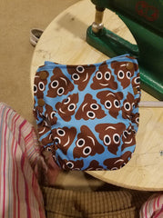Cloth Diaper with KAM Plastic Snaps