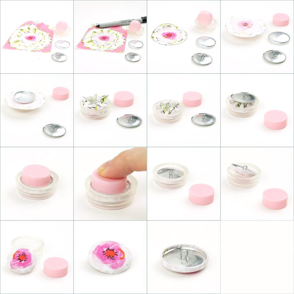 Hoe To Make A Fabric Cover Button