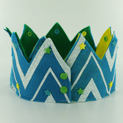 Felt Birthday Crown with KAM Plastic Snaps