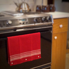 Hanging Kitchen Towel with KAM Plastic Snaps