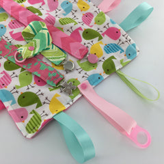 Tag Blanket with KAM Plastic Snaps