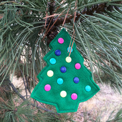 Christmas Ornament with KAM Plastic Snaps